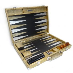 Luxury Games Backgammon Gold